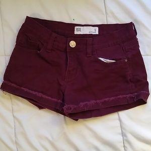 RSQ Malibu Short, burgundy, size 5